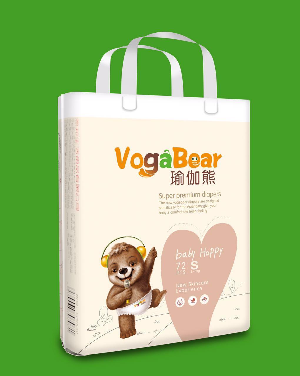 瑜伽熊纸尿裤
